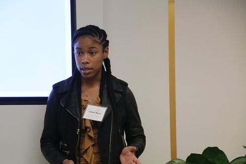 Gupta Values Scholars Spring 2018 Donor Visit