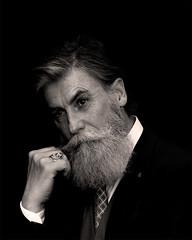 Philippe (click100) Tags: canon7d canon 24105 bw beard moustache noireetblanc noiretblanc