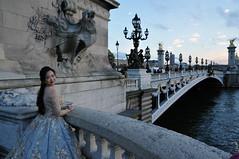 La joie de vivre (jeangrgoire_marin) Tags: wedding bride bridge happiness happy smiling pretty asian photoshoot romantic lajoiedevivre