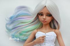 DSC_1795 (sonya_wig) Tags: fairytreewig wig bjdwig minifeewig bjd bjdminifee minifeemirwen handmade doll bjddoll dollphoto fairyland fairylandminifee minifee mirwen bjdphotography coloringhair alpacawig alpacahair