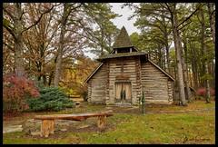 St Jude Chapel - No. 2 (Nikon66) Tags: stjudechapel chapel logcabin church ozarks dentcounty montauk missouri nikon d850