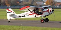 Denney Kitfox III G-DEEZ Lee on Solent Airfield 2018 (SupaSmokey) Tags: denney kitfox iii gdeez lee solent airfield 2018
