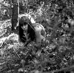 L'enfant sauvage III (lizardking_cda) Tags: hasselblad medium moyen format film analog ilford delta400professionaldp400 wild dance danse sauvage photoshoot shooting beautiful belle woman femme fille girl french nice côte azur riviera france montagne mountain bois wood forest forêt justice portrait model fashion sexy myth pagan poetry bw nb naked nue nude topless dancer danseuse religion birth naissance mort death argentique fairy mystical fine art look regard foetal arbre tree paganisme équilibre equilibrium humanity dof feet grain nature