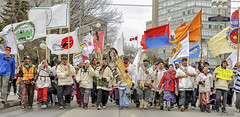 The Journey of Nishiyuu. (stevegilliesphotography) Tags: canada cree creewalkers demonstation idlenomore ontario ottawa people culture firstnations indigenous indiginous politics walkers nishiyuu