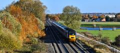 43384 at Lea Marston (robmcrorie) Tags: 43384 cross country trains lea marston warwickshire 1v50 hit high speed train inter city 125 class 43 nikon d850 rail railway railfan loco