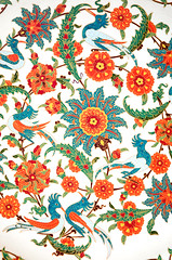 TILE00179 (NORTHERNLIGHTS IMAGES) Tags: tile pattern background islamic floral turkish design blue iznik illustration ceramic decoration art traditional culture vintage islam seamless wallpaper oriental decor old white arabic ornamental architecture ottoman ornament decorative istanbul flower antique red mosque ornate turquoise vector texture tulip beautiful turkey abstract element morocco black green retro motif arabesque east