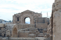 Arch of Hadrian & Hippodrome (California Will) Tags: roman ruins jordan historic arch jerash middleeast grecoroman architecture