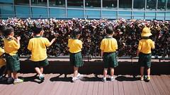 cute children (mofleey) Tags: 귀여운 병아리들 남산타워 자물쇠 동심 일상 추억 cute chick child yellow childlike promise lock moment portrait seoul korea namsantower canon 100d vsco