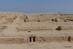 Chogha Zanbil (Dur Untash) Ziggurat, Temple of Shimut and Belet-Ali (1).JPG (tobeytravels) Tags: duruntash elamite untashnapirisha ashurbanipal elam akkadian glazedbakedbrick cuneiform unesco