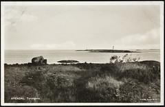 Postkort fra Agder (Avtrykket) Tags: fyr fyrlykt fyrtårn hav holme kanon postkort skjærgård arendal austagder norway