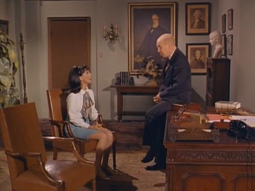 "Marlo Thomas, John Fiedler, That Girl, ""Christmas and the Hard-Luck Kid,"" 1966"
