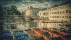 The Cam River.   Cambridge. (Marina Is) Tags: río river cam cambridge bridge puente people gente boats barcas sincity