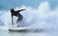 Version 2 (supercrans100) Tags: the wege big waves so calif beaches photography surfing body bodyboarding skim boarding drop knee