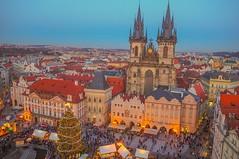 Prague at Christmas 🎄 (Richard Woodhead) Tags: oldtownsquare christmas czechrepublic czechia prague prag praha travel
