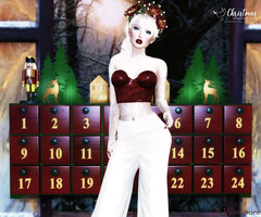 [ GENERATION X ] - , .BF. & Bella Elephante @ Christmas Around the World - December 2018 (Ombrebleue Winsmore) Tags: christmasaroundtheworld generation x adventcalendar nutcracker bf top outfit bellaelephante lipstick