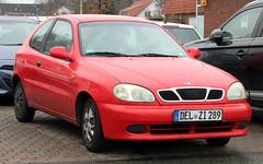 Lanos (Schwanzus_Longus) Tags: delmenhorst german germany asia asian south korea korean modern car vehicle hatchback daewoo lanos