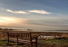 Bench at the Bay..xx (shona.2) Tags: scotland tidal eastlothian aberladybay naturereserve bay monday bench