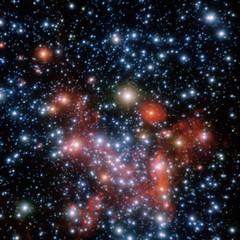 The Center of the Milky Way (sjrankin) Tags: galacticcentre sagittariusa milkywaygalacticcentre eso europeansouthernobservatory blackhole edited 2november2018 star stars