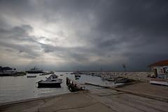 Clouds over Fažana Marina and Brijuni Islands (Eadbhaird) Tags: croatia istria fazana marina boat sea brijuni hrv
