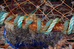 3KB11201a_C (Kernowfile) Tags: pentax cornwall cornish rust rope stives harbour net llobsterpot