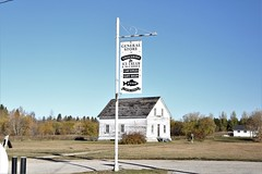 Old General Store Sign at Hecla Island (Mick L.) Tags: october142018mickneon generalstore hecla sign