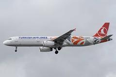 TC-JRO (LIAM J McMANUS - Manchester Airport Photostream) Tags: tcjro tk thy turkish turkhavayollari thyturkish turkishairlines euroleague turkishairlineseuroleague uludag airbus a321 321 airbusa321 manchester man egcc