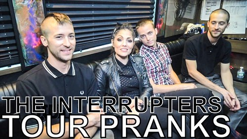 The Interrupters fan photo