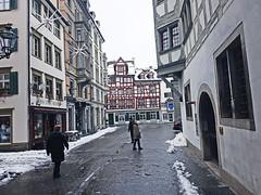 Saint-Gall, Switzerland (photoriel) Tags: saintgall city switzerland oldcity winter building urban chirch