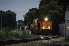 BLE 906 - Mattoon, Illinois (backlitkid) Tags: ble906 cn freight grime illinois