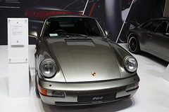 Porsche 911 (964) Carrera 4 (JoRoSm) Tags: lancaster insurance classic motor show nec birmingham car cars automobile auto nationalexhibitioncentre carshow 2018 sports performance classics yesteryear polished rides wheels canon 500d tamron porsche porker german supercar old 911 964 carrera 4 limited edition restoration rare oneoff grey eos transport national exhibition centre indoor