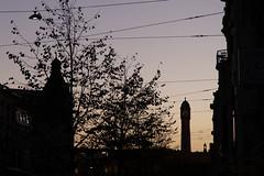 Gent-Sint-Pieters (itmpa) Tags: ghent eastflanders belgium be gentsintpieters clocktower silhouette louiscloquet 1912 konelisabethlaan gent archhist itmpa tomparnell canon6d canon 6d