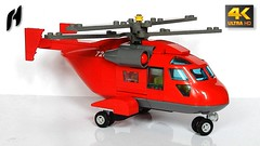 Lego Helicopter (MOC - 4K) (hajdekr) Tags: lego buildingblocks tip help tips stepbystep inspiration design moc myowncreation toy model buildingbricks bricks brick builder buildingtoy air aircraft vehicle copter helicopter rotor city minifigure figure rescue rotorcraft chopper rotors fly transport emergency wing vtol set updated afol bus gullwingdoor gullwing door helicopterbus helicopterbusservice 11458