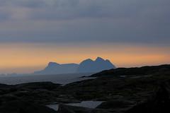 Sun-set / Lofoten Islands Norway view from Sorvagen-headland on Mosken and Vaeroy Islands (k.marek.gncr) Tags: mosken vareoy islands lofotrn norway norge sunset sea nordland clouds sun shore gbcrphoto