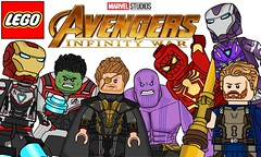 Custom Lego Avengers 4 and Infinity War Minifigures !!! (afro_man_news) Tags: lego marvel set avengers infinity war 4 thanos thor rocket raccoon quantum realm new suits minifigures custom captain spiderman america pepper potts rescue armor iron man hulk