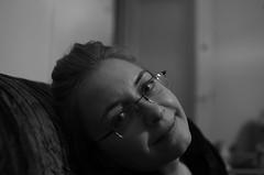 The smile (Baubec Izzet) Tags: baubecizzet pentax portrait blackandwhite bokeh