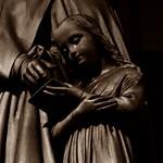 3 - Paris - Église Saint-Augustin - Sainte Anne et la Vierge enfant - Détail thumbnail