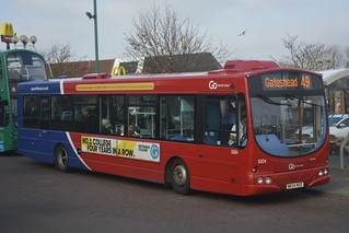 5204 NK54 NUX Go North East