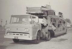 Ford tilt-cab: ARCO #(92)187 (PAcarhauler) Tags: ford carcarrier truck semi trailer tractor coe