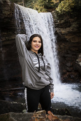 3Q0A9904 (agentsmj) Tags: girl teen teenager woman brunette senior portrait ohiopyle pennsylvania outdoors cold weather november 2018 cute funny state park