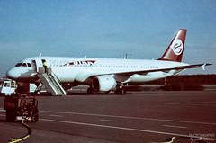 TC-FBF Freebird Airlines A320-200, EFPO, Finland (Sebastian Viinikainen.) Tags: tcfbf freebird airlines turkey efpo finland a320200 film scanned