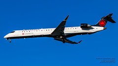 Air Canada Express CRJ-900 in the YVR Blue on Final (AvgeekJoe) Tags: aircanada aircanadaexpress bombardier bombardiercl6002d24 bombardiercrj bombardiercrj705 bombardiercrj900 bombardiercrj900lr bombardiercrj9 cgjaz cl6002d24 crj705 crj900 crj900lr crj9 d5300 dslr nikon nikond5300 tamron18400mm tamron18400mmf3563diiivchld aircraft airplane aviation jetliner plane