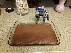 Daughter Made a Cake (cjacobs53) Tags: jacobs jacobsusa 119picturesin2019 annual scavenger photo hunt yearly picture boba fett star wars starwars lego cake chocolate