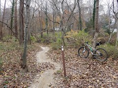 Creek Trail (mcfeelion) Tags: cycling bike bicycle wakefieldpark annandaleva