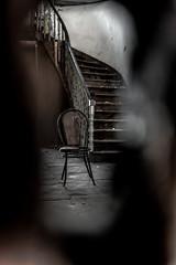 Muerta la curiosidad se se acabó el humano. (Rafael Lopezeta) Tags: fujifilm abandoned old house hall