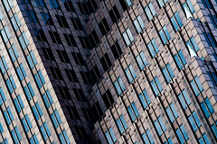 (jfre81) Tags: houston downtown landmark bank america tower office abstract abstraction abstrakt line intersecting parallel shadow light blue black diagonal perspective geotagged htown tx clutch city urban minimalist minimalism minimis pattern macro art