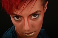 B040 (boeddhaken) Tags: seductiveeyes eyes browneyes brighteyes beautifuleyes makeup lips goldlips hotlips sexylips beautifulface