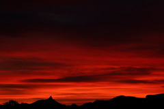 Sunset 11 4 18 #10 (Az Skies Photography) Tags: sun set sunset dusk twilight nightfall sky skyline skyscape rio rico arizona az riorico rioricoaz arizonasky arizonaskyline arizonaskyscape arizonasunset red orange yellow gold golden salmon black november 4 2018 november42018 11418 1142018 canon eos 80d canoneos80d eos80d canon80d