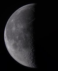 Morning moon (ukmjk) Tags: last quarter moon nikon d500 1000mm f10