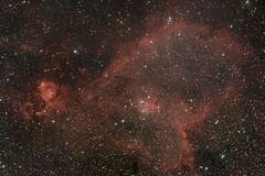 Christmas Love from the Heart Nebula - RASA (Manifest Stephanie) Tags: celestron rasa cloud break optics heart nebula astrophotography ic1805 urban night telescope astrograph rasa8