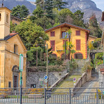 St. Bartholomew's Church and Butcher Shop, Tremezzo, Lake Como thumbnail